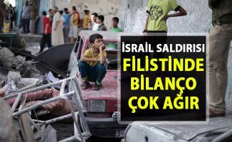 İsrail sivil halkı vurmaya devam ediyor! Filistin'de bilanço çok ağır!..