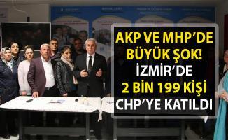 İzmir'de 2 bin 199 kişi AKP ve MHP'den istifa edip CHP'ye katıldı! 500 Kişi İYİ Parti'ye katıldı