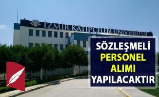İzmir Kâtip Çelebi Üniversitesi Sözleşmeli Bilişim personel alımı yapacak!. Son başvuru 10 Nisan 2019