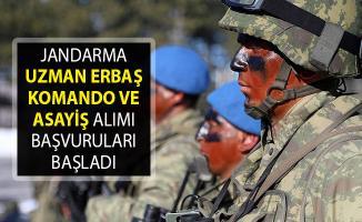 Jandarma Genel Komutanlığı 22 Bin Sözleşmeli Uzman Erbaş Komando Ve Asayiş Alımı Başvuruları Başladı