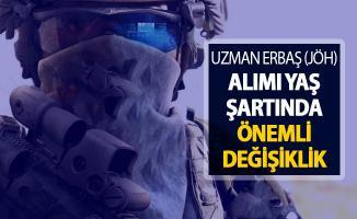 Jandarma Uzman Erbaş (JÖH) Alımı Yaş Şartında Değişiklik !