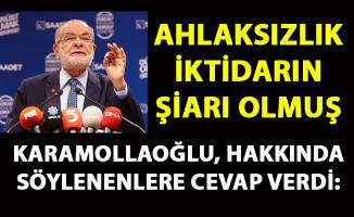 Karamollaoğlu, Erdoğan'ın hakkında söylediklerine cevap verdi