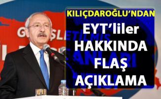 Kılıçdaroğlu EYT'lilere seslendi! Erdoğan'ın EYT'liler hakkında ki söylemine flaş açıklama