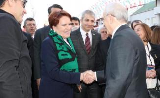 Kılıçtaroğlu ve Akşener, Denizli mitingi'nde gündeme dair başlıkları değerlendirdi