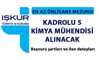 Kimya mühendisi iş ilanı yayımlandı! İŞKUR İstanbul için açık iş ilanları!..