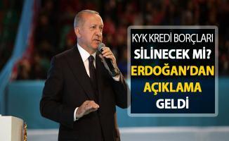 KYK Borçları Siliniyor Mu? Cumhurbaşkanı Erdoğan Açıkladı