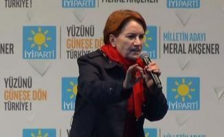 Meral Akşener: 'artık hesaplar ebcet hesabından başka bir yöne doğru dönmüş durumda'