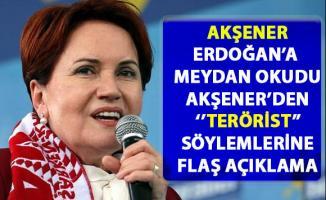 Meral Akşener, Erdoğan'ın hapis tehtidine meydan okudu! Akşener'den 'Terörist' söylemlerine flaş açıklama