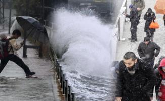 Meteoroloji'den Çok Önemli Soğuk Hava, Kar, Fırtına ve Yağmur Uyarısı