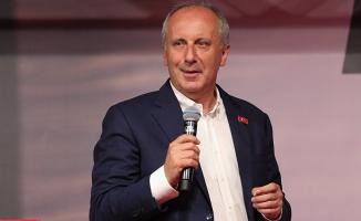 Muharrem İnce: Kendisine Fetöcü Yaver Seçen, Fetöye Ne İstedilerse Veren, Tayyip Erdoğan CHP'yi Suçluyor