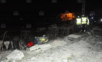 Niğde'de motosiklet kazası! 1 ölü 1 yaralı
