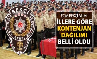 Polis Akademisi 8 Bin Bekçi alımında İstanbul, Ankara, İzmir ve tüm illerde bekçi kontenjanı
