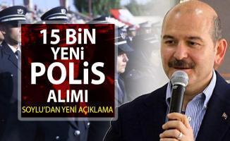 POMEM 15 bin yeni polis memuru alımı başvurusu için Süleyman Soylu'dan son açıklama