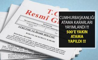 Resmi Gazete Atama Kararları Yayımlandı- 30 Mart 2019 Atama Kararları