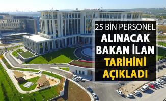 Sağlık Bakanlığı 25 Bin Kamu Personeli Alımı Yapacak ! İlan Tarihini Bakan Koca Açıkladı