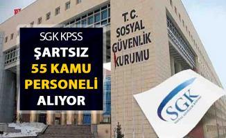 SGK Kamu Personeli Alımı Yapıyor ! KPSS Şartı Aranmıyor