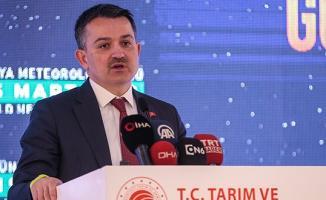 Tarım Bakanı Pakdemirli Açıkladı: 172 Alo Meteoroloji Çağrı Merkezi Kuruyoruz