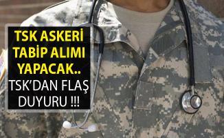 TSK Personel Alımı Yapacak- TSK Askeri Tabip Alımı Yapacak- TSK Personel Alımı 2019