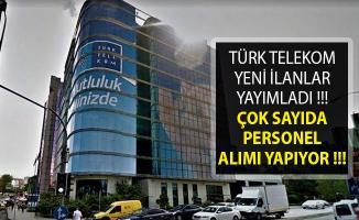 Türk Telekom En Az Lise Mezunu Personel Alımı Yapılıyor- 2019 Türk Telekom Personel Alımı- Türk Telekom Personel Alımı Başvuru Şartları