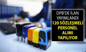 120 Sözleşmeli Kamu Personeli Alımı Yapılıyor! Kamu Personeli Alımı 2019! DPB Kamu Personeli Alımı