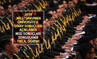 2019 Milli Savunma Üniversitesi Sınav Sonuçları Açıklandı! ÖSYM MSÜ Sonuçları Sorgulama Ekranı...