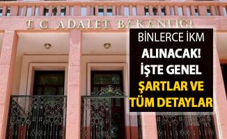 Adalet Bakanlığı Binlerce İnfaz Koruma Memuru (İKM) Alımı ! Başvuru Şartları