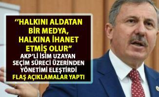 AKP'li Selçuk Özdağ, sonuçlanmayan seçim üzerinden taraflı davranan medya guruplarına ağır sözler söyledi