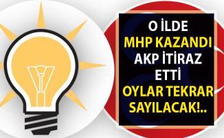 AKP, MHP'nin kazandığı o il için seçim sonuçlarına itiraz etti!.. Oylar tekrar sayılacak!.
