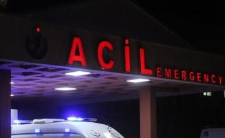 Ankara'da Trafik Kazası! Polis Memuru Yaralandı