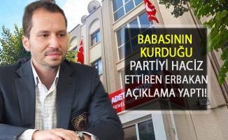 Babasının Kurduğu Partiyi Haciz Ettiren Erbakan Açıklama Yaptı