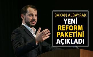 Bakan Albayrak Yeni Reform Paketini Açıklıyor