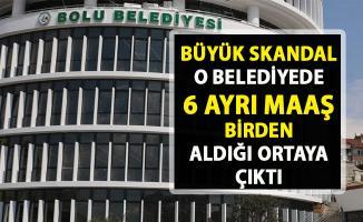 Belediyeden 6 ayrı maaş aldığı ortaya çıktı! Bolu Belediyesi'nde yine bir sakandal daha