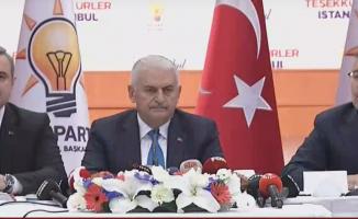 Binali Yıldırım İstanbul Seçimine Yönelik Açıklama Yapıyor