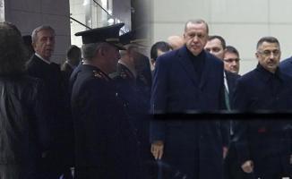 Cumhurbaşkanı Erdoğan Ankara'ya Geldi, Mansur Yavaş Karşıladı