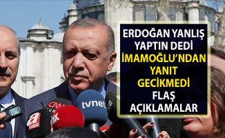 Cumhurbaşkanı Erdoğan ile İmamoğlu arasında mazbata polemiği
