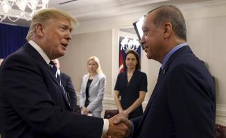 Cumhurbaşkanı Erdoğan ve ABD Başkanı Trump Görüşme Yaptı