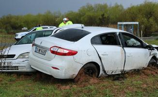 Diyarbakır'da meydana gelen trafik kazasında 1'i ağır 7 kişi yaralandı.
