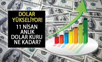 Dolar Yükseliyor! 11 Nisan 2019 Canlı Dolar Kuru Kaç TL?