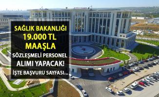 DPB İlan Açtı! Sağlık Bakanlığı'na 19.000 TL Maaşla Sözleşmeli Personel Alınacak!