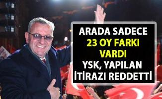 Edirne'nin Keşan ilçesinde CHP'nin seçim itirazını YSK reddetti!..