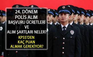 EGM, 3000 Polis Alımı Başvurular Başladı. Peki başvuru şartları neler? KPSS'den kaç puan almak gerekiyor?