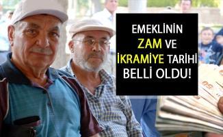 Emeklilere Zam ve İkramiye Tarihi Belli Oldu!