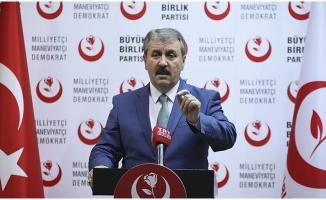 Erdoğan'ın 'Türkiye  İttifakı' Önerisine BBP'den Olumlu Yanıt