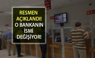 Garanti Bankası İsim Değiştiriyor! Garanti Bankası'nın Yeni İsmi Ne Olacak?