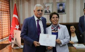 Günlerce Tartışılmıştı ! Ahmet Türk Mazbatasını Aldı