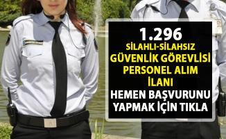 Güvenlik görevlisi iş ilanları! İŞKUR tarafından Bin 296 güvenlik personel alımı yapılacaktır!