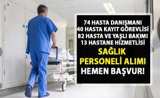 Hasta danışmanı, hastane hizmetlisi personel alımı! İŞKUR güncel iş ilanları