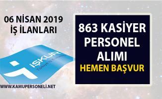 İŞKUR 2019 yeni iş ilanları! 863 Kasiyer Personel Alımı yapılacaktır!..