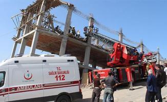 İstanbul Arnavutköy'de İnşaat Çöktü! Yaralılar Var