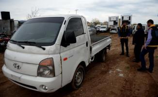 İstanbul'da 5 Yıl Önce Çalınan Kamyonet Suriye'de Bulundu